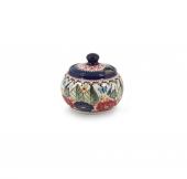 Sugar bowl - Polish pottery