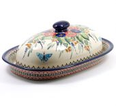 Bread bin - Polish pottery
