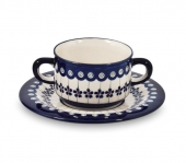 Soup bowl - Polish pottery