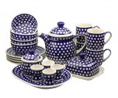Set for breakfast - Polish pottery