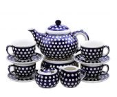 Coffee,Tea set - Polish pottery