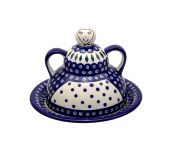 Cheese lady - Polish pottery