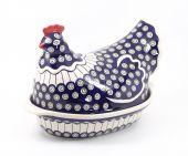 Hen - Polish pottery