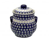 Cucumber pot - Polish pottery