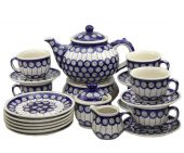 Dessert set large - Polish pottery