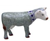 Cow - Polish pottery