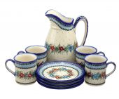 _en[Zsetaw do napojów] - Polish pottery
