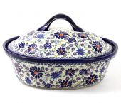 Baking tin - Polish pottery