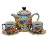 Set for two - Polish pottery