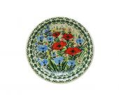 Soup plate - Polish pottery