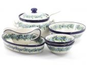 Dinnerware set p.2 - Polish pottery